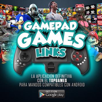 Gamepad Games links aplikacija
